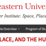 Space, Place and the Humanities research institute